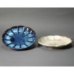 白岩焼和兵衛窯 菊皿