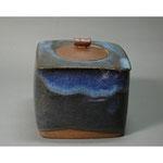 白岩焼和兵衛窯 海鼠釉水指