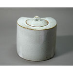 白岩焼和兵衛窯 白釉水指