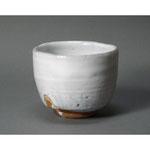 白岩焼和兵衛窯 白釉抹茶碗