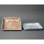 白岩焼和兵衛窯 角皿