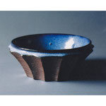 白岩焼和兵衛窯 海鼠釉鎬鉢