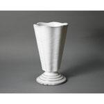 白岩焼和兵衛窯 白釉花器