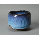 白岩焼和兵衛窯 海鼠釉抹茶碗