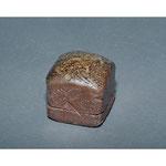 白岩焼和兵衛窯 焼締香合