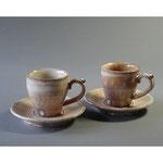 白岩焼和兵衛窯 粉引コーヒーカップ