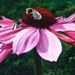 Zonnehoed, Acrylverf op linnen, 120cm x 60cm, 2010. DISPONIBLE