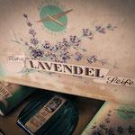 Lavendel-Seife-Set mit Duftwasser