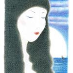 人魚姫(色鉛筆)