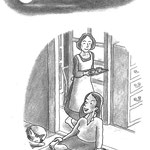 児童書「ねえ、さあやちゃん」[文芸社] p.21(色鉛筆)