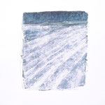 Winterruhe - Acryl auf Papier - 0,60 x 0,50, m. R. 0,61 x 0,51