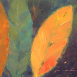 Herbstreigen - Acryl auf Leinwand - 0,60 x 0,40, m. R. 0,64 x 0,44