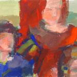 Maria - Acryl auf Papier - 0,50 x 0,40, m. R. 0,63 x 0, 83