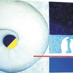 Evolution - Acryl auf Leinwand - 0,70 x 0,50, m. R. 0,74 x 0,54