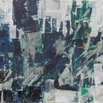 Stadtgeflüster - Acryl auf Papier - 0,40 x 0,50, 0,60 x 0,70