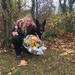 Jelia mit Zakira; Vize-Schweizstermeisterin 2016 in VPG 3