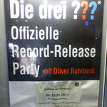 "Die drei ??? Record Release Party ""Zwillinge der Finsternis""/Marburg (23. Januar 2011)"
