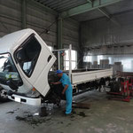 3トン車の車検整備