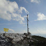 Gipfelkreuz Braunedelkogel