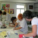 Arbeiten im Atelier 66