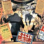Il cinematografo Stella d'Italia di Gravedona (anno 1909) , collage di locandine