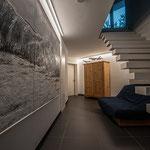 Privathaus Mainz Linienleuchten Innenbereich UG