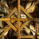 Eltviller Stadtturm Dachstuhl