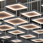 Autohaus Beresa Bielefeld Lichtskulptur Willkommenszone Detail
