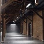 Güterbahnhof Bad Homburg volle Beleuchtung
