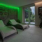 Privathaus Odenwald RGB-LED-Linien Ruhebereich