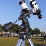 Vixen GP-DX mit VMC 110L- 1035mm und TS 65Q-420mm