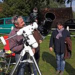 Teleskop vom Sternpark