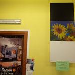 Pannelli: Bianco, Personalizzato (foto girasoli fatta da noi), Nero.