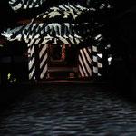 山門文様と波紋・有明浜