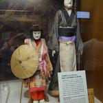木偶人形の展示