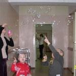 Лейкоз у детей. Охота за мыльными пузырями