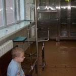 Лейкоз у детей. Ожидание медсестры в процедурной