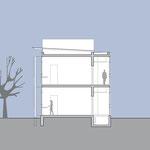 Laborgebäude - Schnitt B-B