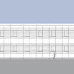 Laborgebäude - Ansicht Ost