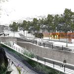 Landesgartenschau - Flussufergestaltung