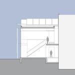 Laborgebäude - Schnitt A-A