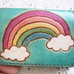 虹のパスケース