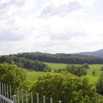 Blick vom Kalkofen-Plateau zum Wilisch. Foto: © S. Weirauch