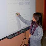 Moments forts en 2010 - La classe numérique : tableau blanc interactif