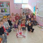 Rentrée 2011 – Classe des grands – Au coin regroupement dans leur nouvelle classe