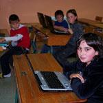 Moments forts en 2010 - La classe numérique : 10 ordinateurs portables