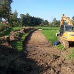 Les travaux de la nouvelle liaison douce - Septembre 2012