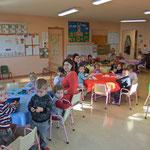 Rentrée 2011 – Classe des petits – Temps de travail en ateliers