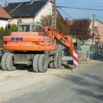 Travaux d'assainissement - Rue Helminger - Avril 2010