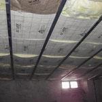 Novembre 2013 - Isolation thermique sous le plancher du rez-de-chaussée